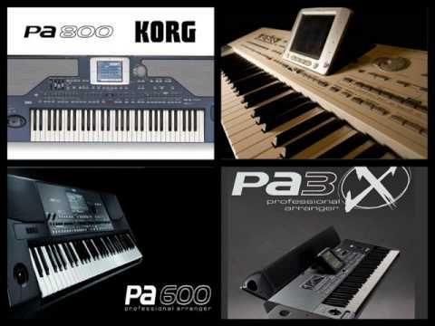 RITRMURI pentru orgi electronice Korg, Yamaha, Roland
