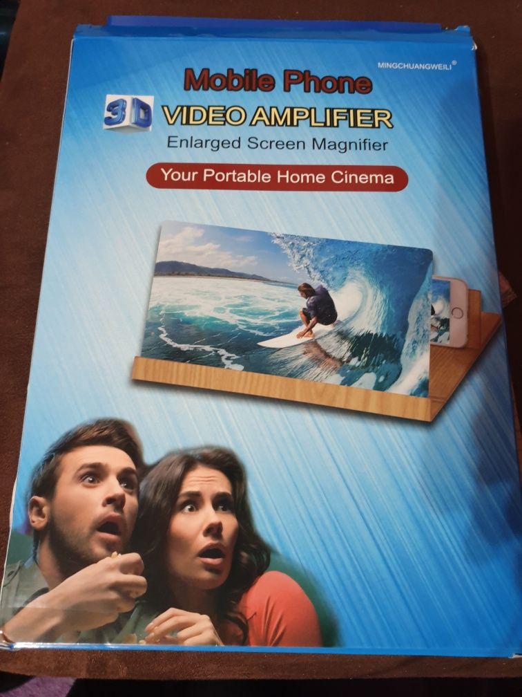Amplificator video pentru smartphone