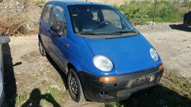 Dezmembrez daewoo matiz 2007 cu ac albastru