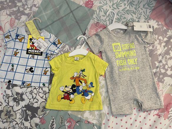 нови бебешки дрехи с етикет