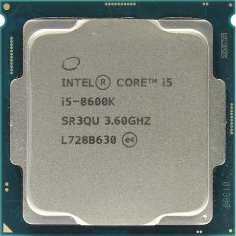 Процессор в сборе с материнской платой. i5-8600k c MSI 370 Tomahawk