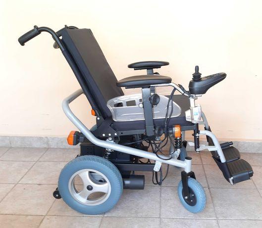 Акумулаторна инвалидна количка с джойстик НОВА + ГАРАНЦИЯ + ТРАНСПОРТ