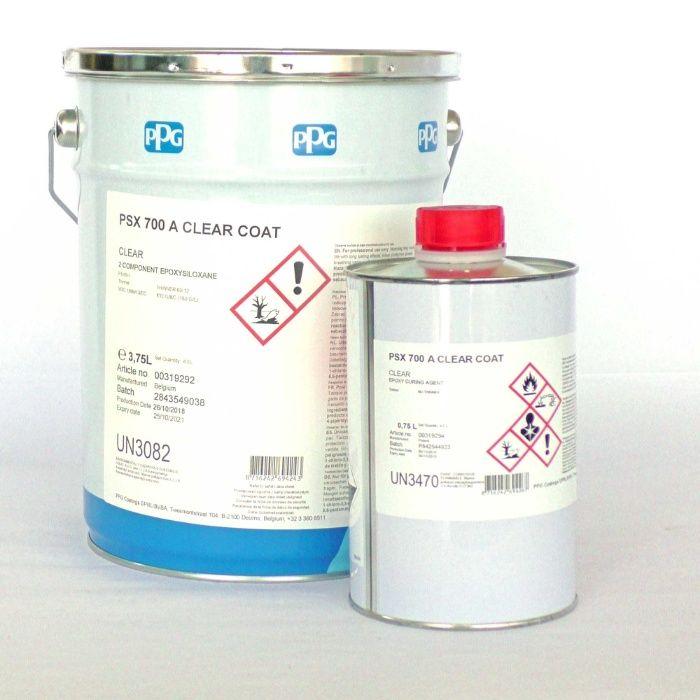 PTRK PSX® 700 A CLEAR COAT - lac de protectie betoane si metale