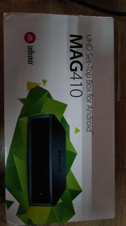 iptv MAG 410 UHD 4K