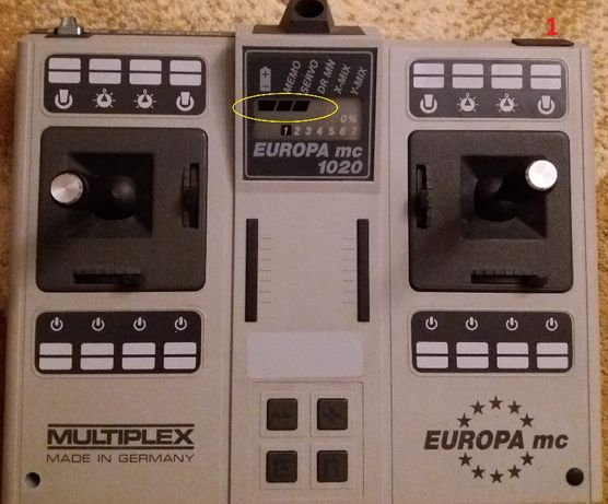Radiocomanda Multiplex Europa MC 1020