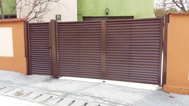 Constructii metalice, balustrazi, porti, garduri, scari metalice.