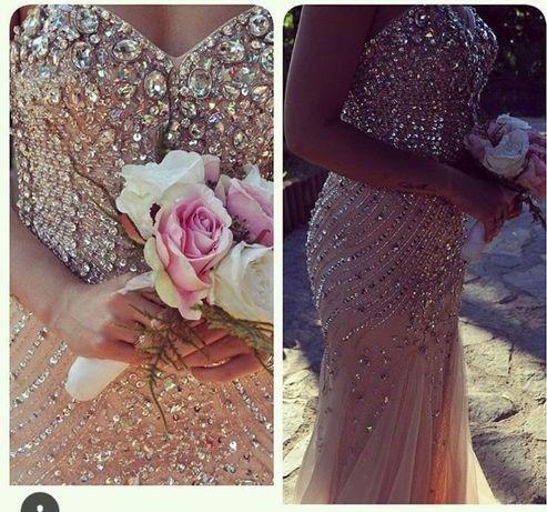 Бална/ Официална рокля с камъни