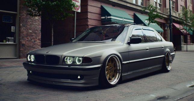 BMW E38 передняя губа ALPINE