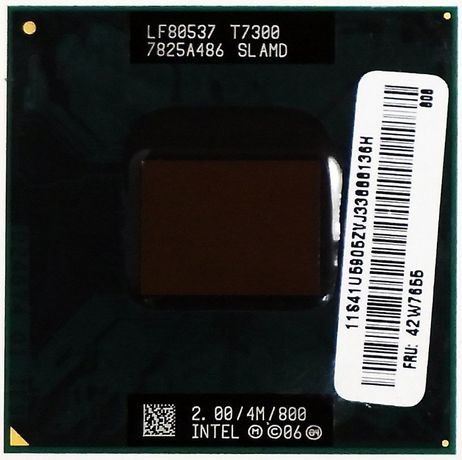 Procesor Laptop Intel Core 2 Duo Mobile 2 Ghz T7300