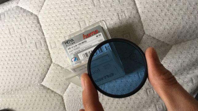 filtru hoya M55 kb 12 nou in cutie pt foto interior reduce rosul