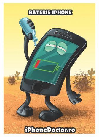 Schimbare Baterie iPhone - Pe loc - Garantie 90 de zile