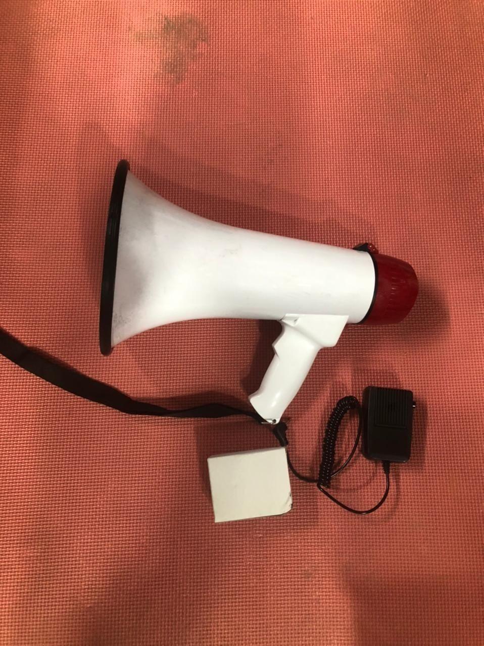 Ручной мегафон, рупор