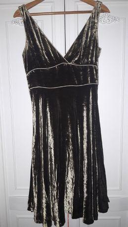 рокля от кадифе на Zara Размер М-Л