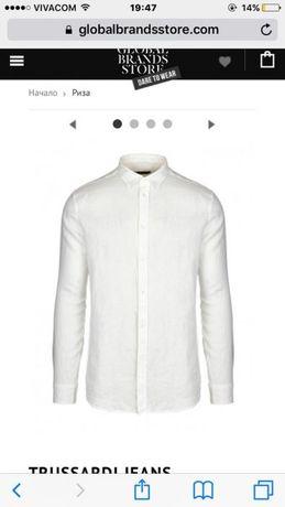 Оригинална риза trussardi jeans