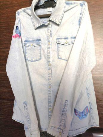 Дънкова риза от H&M
