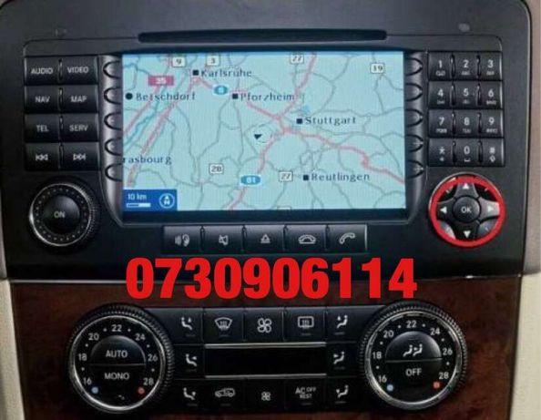 DVD Mercedes harti NTG2 2019 clasa A/B/C/CLK/GL/ML/R/CLS/E Romania V19