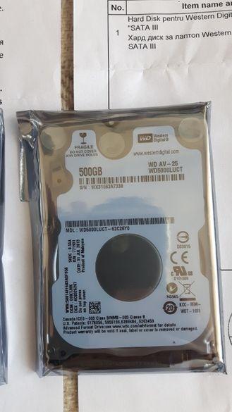 Хард дискове за лаптоп НОВИ