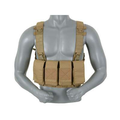 "Ham Tactic Mags Chest Rig 5.56 ""8FIELDS"" Culoare COYOTE, Nou"