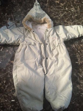 детски зимен космонавт, ескимос, гащеризон