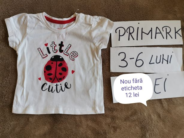 Tricouri - 3-6 luni fetițe