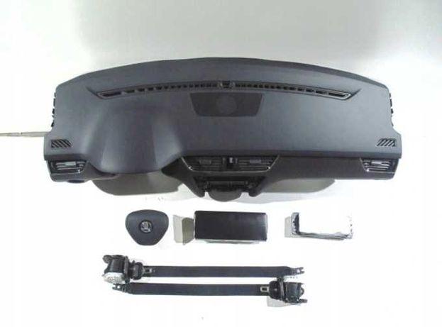 SKODA OCTAVIA III 3 5E kit airbag volan pasager plansa de bord centuri