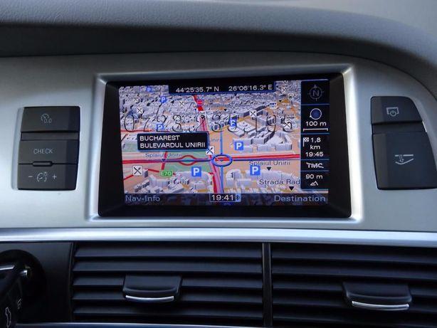 DVD Harta Navigatie Audi A4 A5 A6 A7 A8 Q5 Q7 MMI 2G 3G+ Plus RNSE