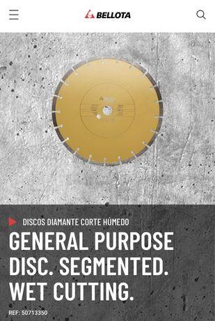 Disc diamantat beton Bellota