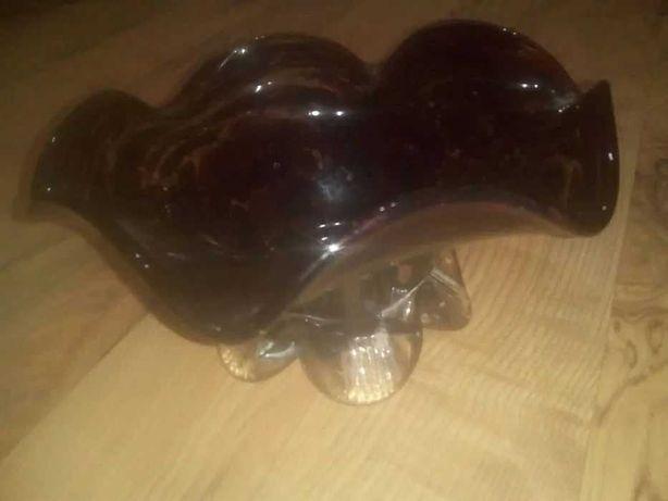 Bol bomboniera fructiera din sticla de Murano, anii 70, vintage