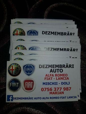 Dezmembrari Si Service Auto Alfa Romeo .Fiat .Lancia