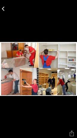 Грузоперевозки: 2000 Сборка/разборка Мебели любой сложности. ГАЗЕЛИ