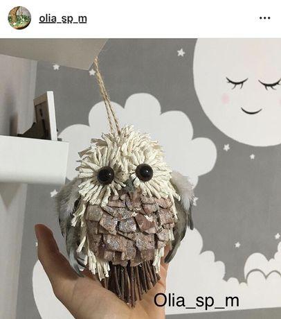 Интерьерная сова