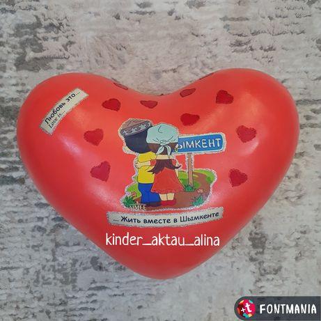 "Упаковка для подарка в стиле ""Love is..."""