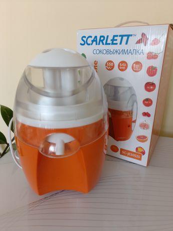 Продам соковыжималку SCARLETT