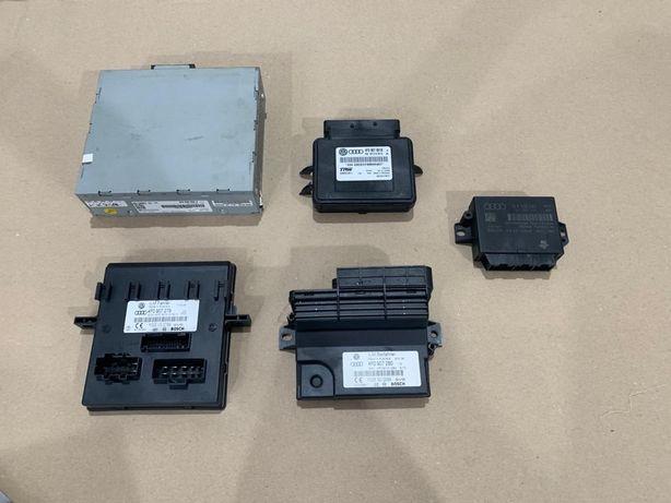 Unitate radio / Amplificator, Calculator confort, Modul PDC Audi A6 4F