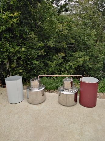 Cazane de tuica de inox și cupru de calitate garantata