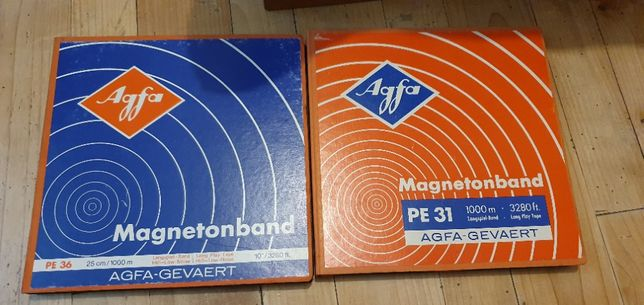 2 benzi AGFA 24 cm