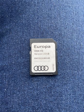 Card europa version 2018