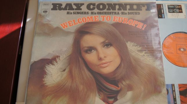 LP album Ray Conniff, His Singers - – Welcome To Europe