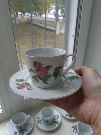 Кофейный набор чашек 6шт