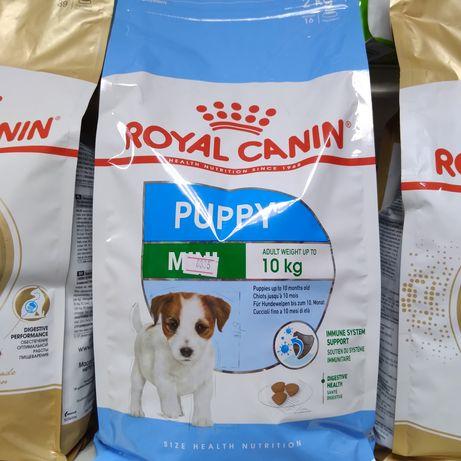 Сухой корм Роял канин для щенков мелких пород, Royal Canin mini puppy