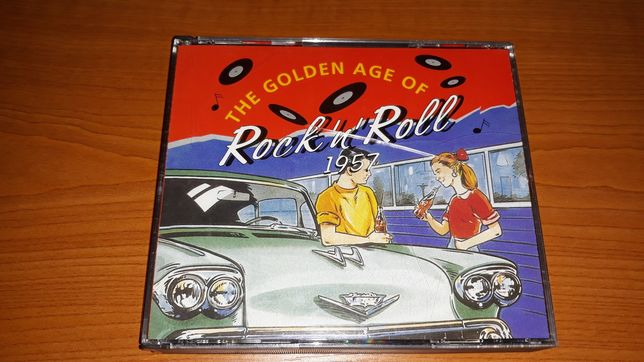 3 CD - The golden age of Rock' n' Roll