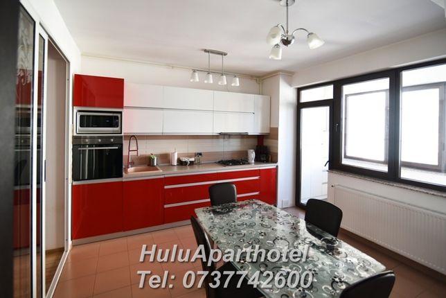 Inchiriez / cazare Brasov, Coresi apartament 3 camere Complex Isaran.