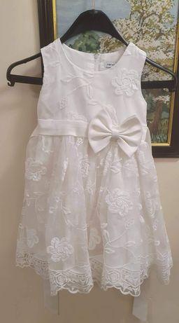 Официална рокличка с подарък бели обувчици!