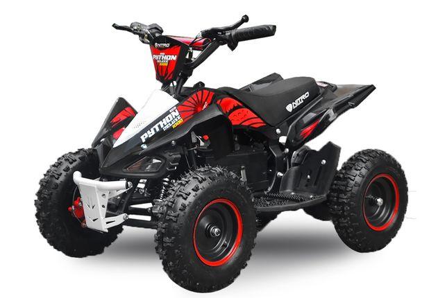 ATV electric NITRO ECO Python 1000W 48V DELUXE #Rosu
