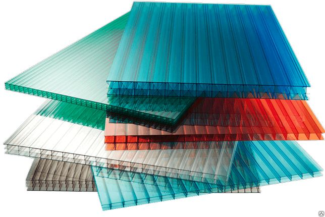 Сотовый поликарбонат (цветной) Berolux/Woggel 6 мм,