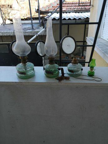 Продавам 4 броя газени лампи