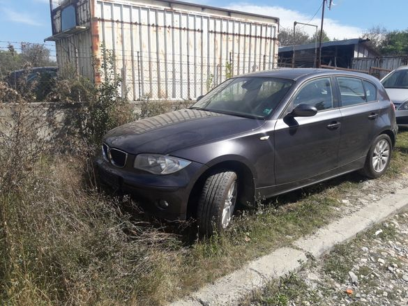 БМВ Х118д BMW X118d 2006 г 2.0 диз. само на части