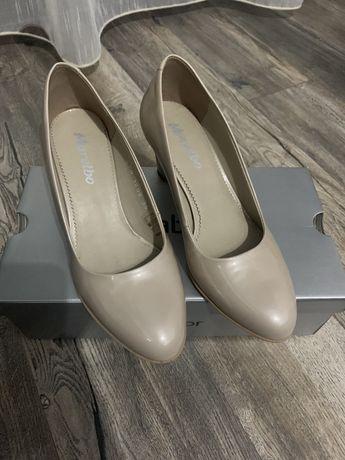 Pantofi piele mar.38