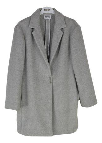 Palton Dama Gianfranco Ferre Marimea M-L Gri Din Lana si Angora VV13