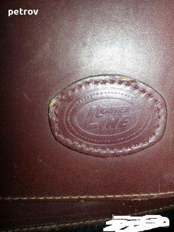 мъжка чанта amiet leather line